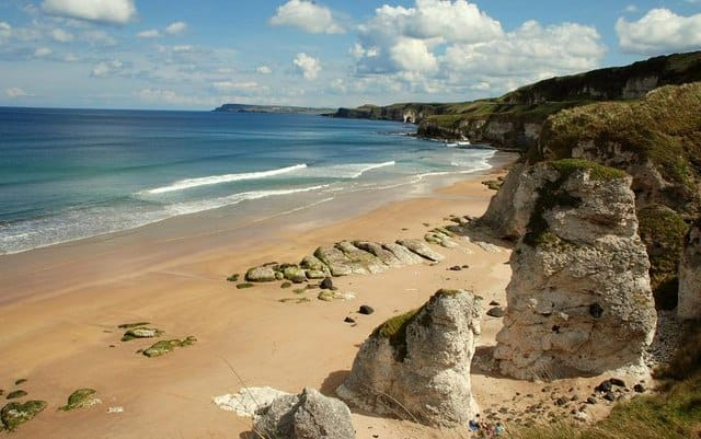 Portrush White Rocks Beach ireland