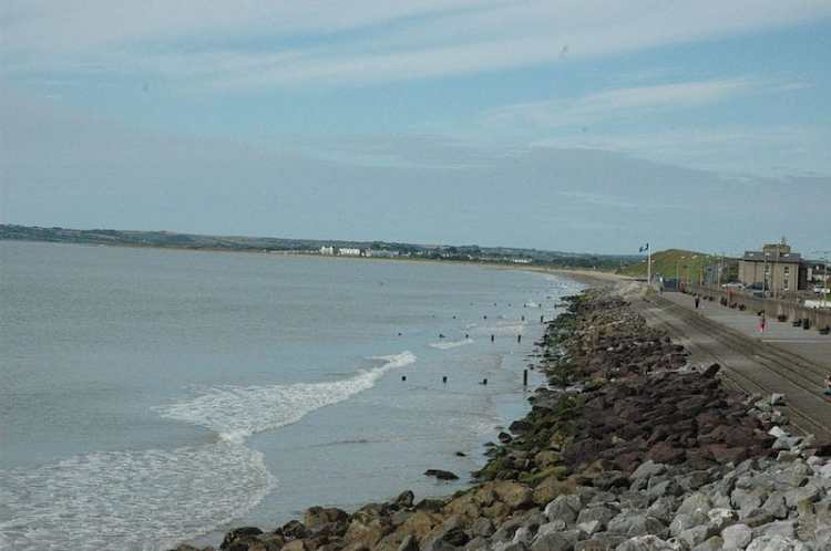 pic of Youghal Front Strand Beach ireland