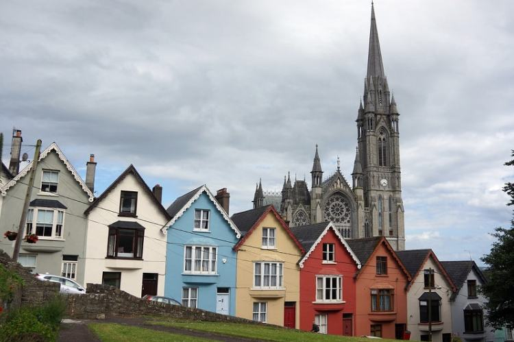 Picture of The town of Cobh