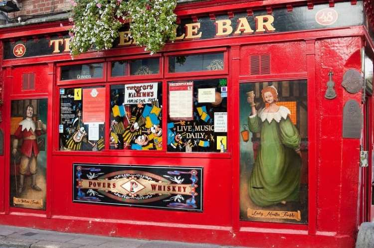 image of temple bar