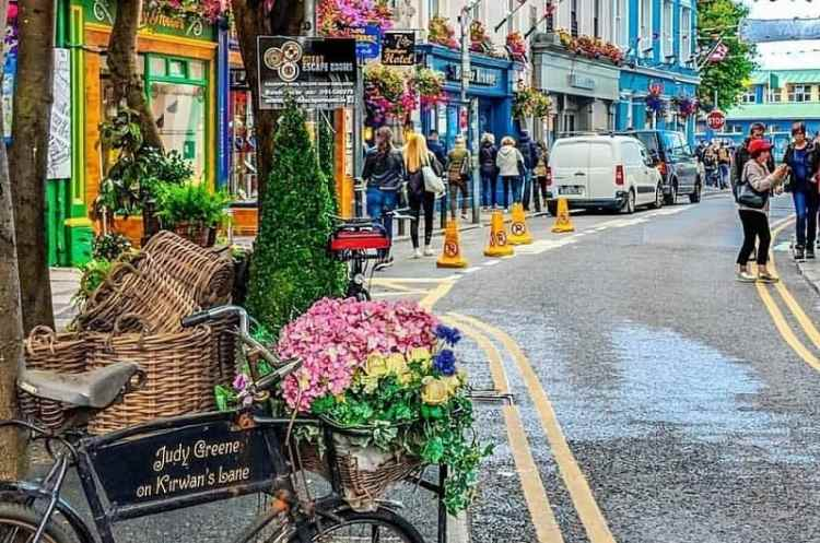 image of Galway's Latin Quarter