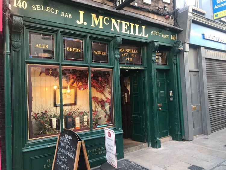 image of McNeills in Capel Street