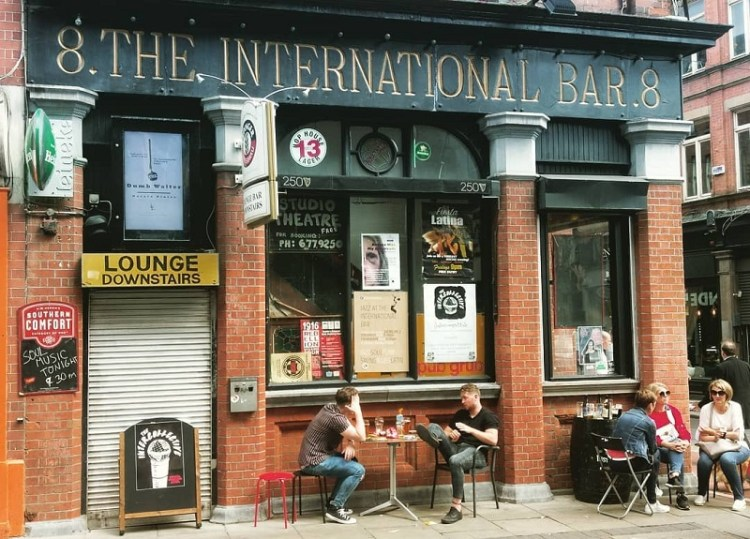image of The International Bar on Wicklow Street