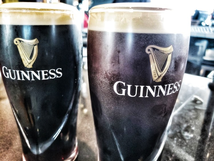 how to drink guiness