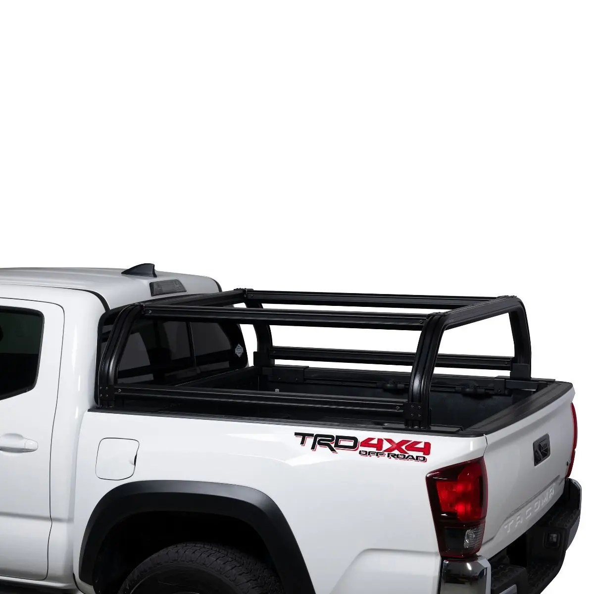 venturetec overland bed rack for toyota tacoma 2016 to present with 5 ft bed