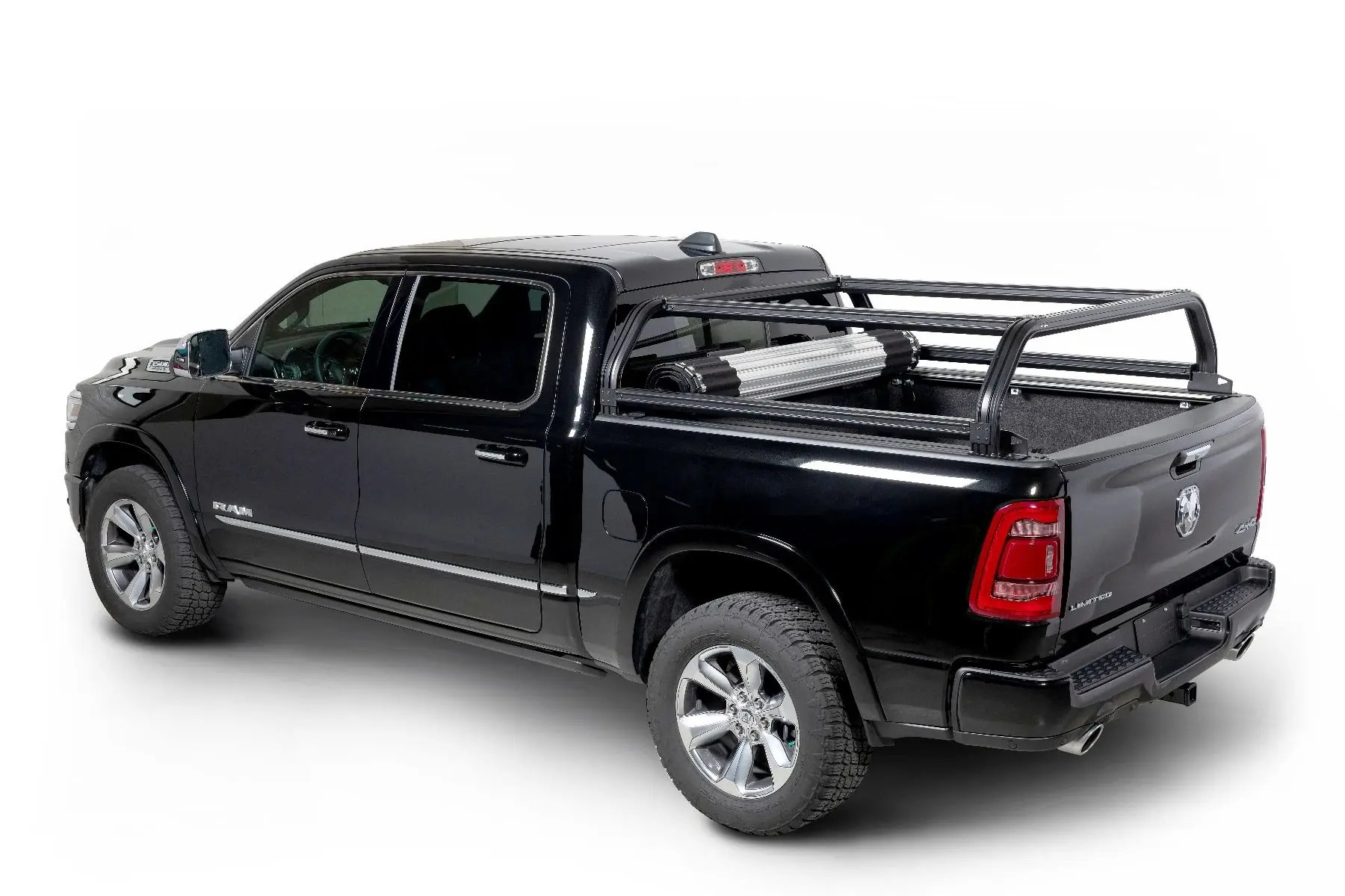 venturetec overland bed rack for ram 1500 2019 to present with 6 5 in bed