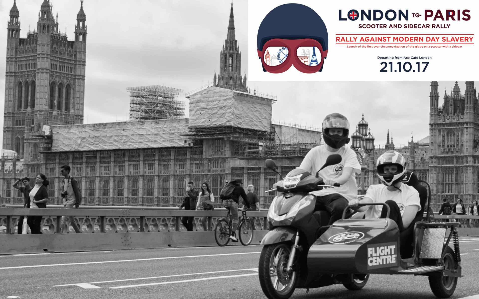 London to Paris Scooter and Sidecar Rally - OVERLAND magazine