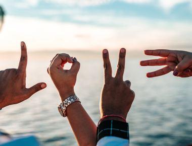 Photo by Tyler Nix, Love, Beach, Hand Gestures