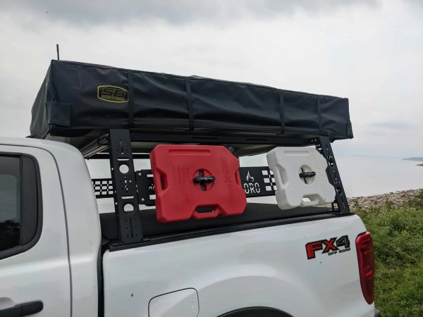 Bed Rack Rotopax Mount