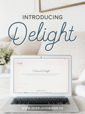 Introducing Delight - a Girly Genesis Child Theme