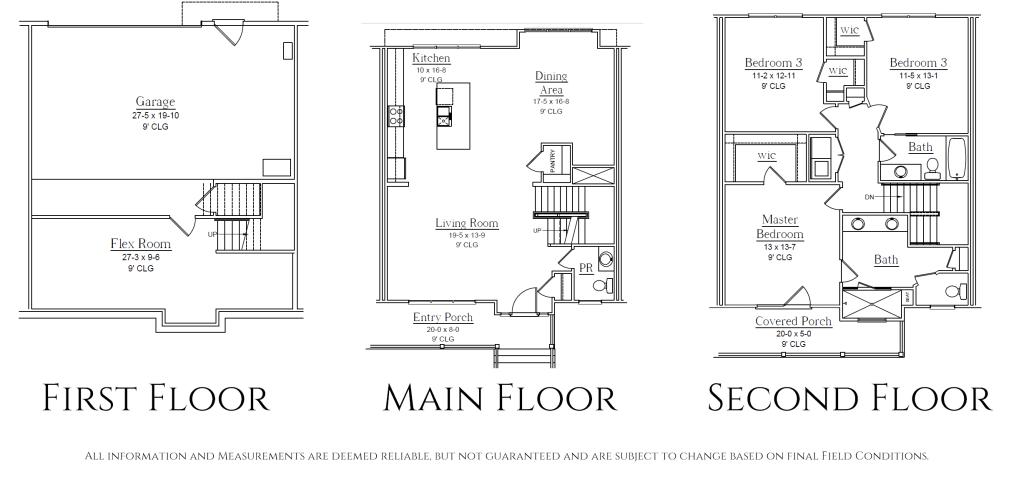 Overlook RVA Floor Plans