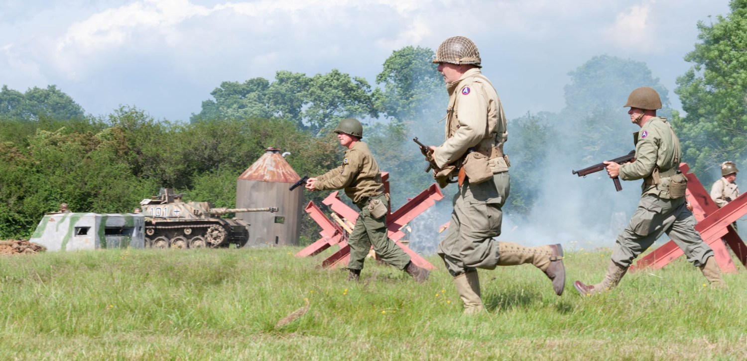 American Soldiers Rush