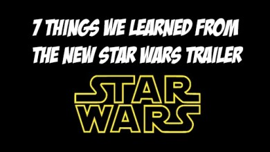 7 Things We Learned From the Star Wars: Episode VII Trailer