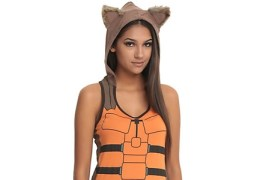 Need a Last Minute Cosplay? This Rocket Raccoon Tank Top Comes Complete with Ears and a Tail
