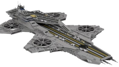 Assemble This LEGO Avengers Helicarrier