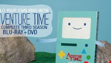 No One Told Me How Awesome the Adventure Time DVD Packagings Look...