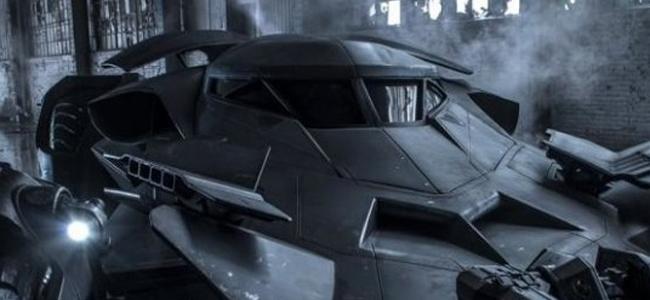 Batman v. Superman Batmobile Officially Revealed!