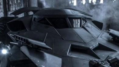 Photo of Batman v. Superman Batmobile Officially Revealed!