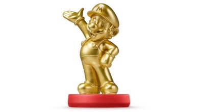 Gold Mario Amiibo is Already Sold Out, Going for $200 on Ebay