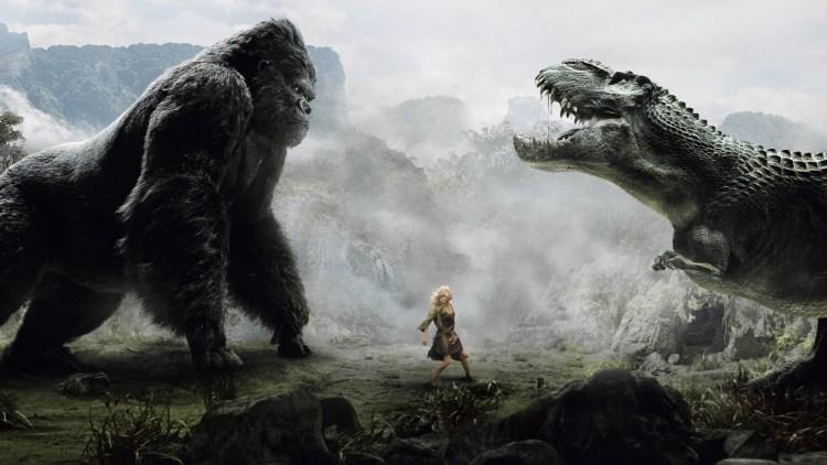 king kong t-rex