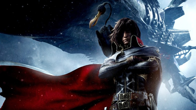 This Is When Harlock: Space Pirate Will Finally Arrive on DVD