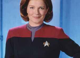 Meeting Captain Kathryn Janeway