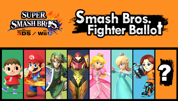 Super Smash Bros. Fighter Ballot: Your Ultimate Voting Guide