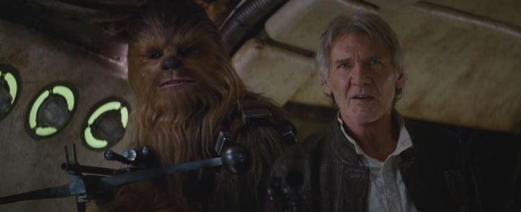 star wars force awakens trailer 2 25 chew were home