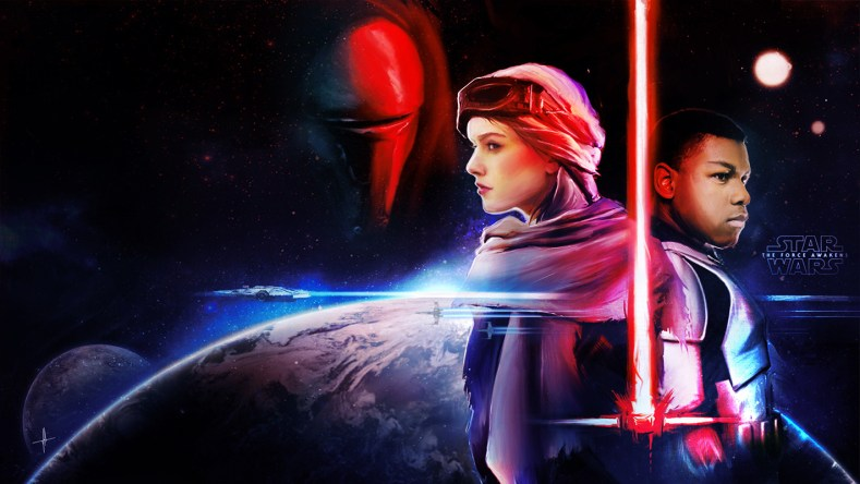 Ten of the Best Star Wars: The Force Awakens Fan Posters You'll See Anywhere