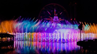 Photo of Star Wars Added to Disneyland's World of Color Show