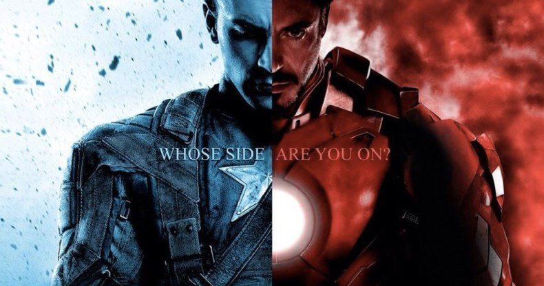 Captain America: Civil War - Concept Art Gives Us Our First Look at Iron Man vs Cap