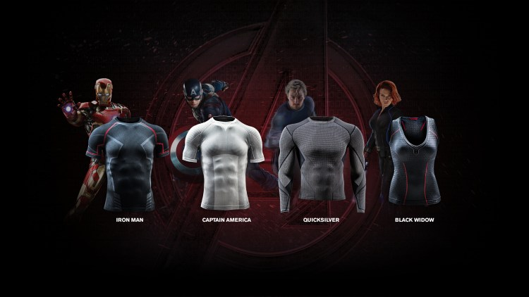 under armor age of ultron
