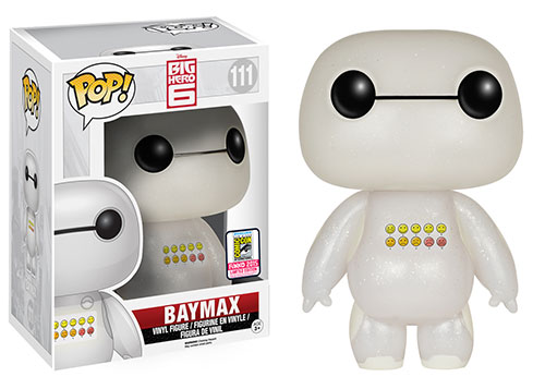 Big Hero 6 - Transluscent Glitter Emoticon Baymax