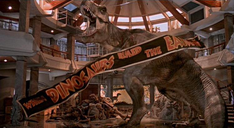 Visitor Center T Rex Jurassic Park