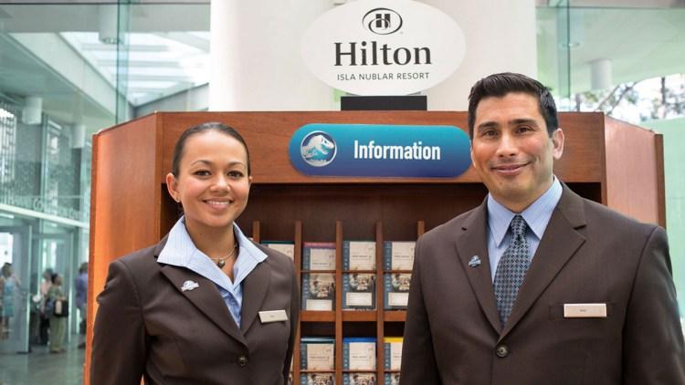 hilton-greeters