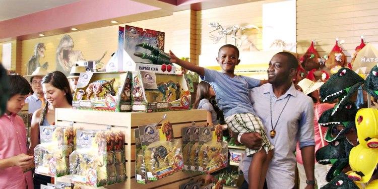 jurassic world gift shop
