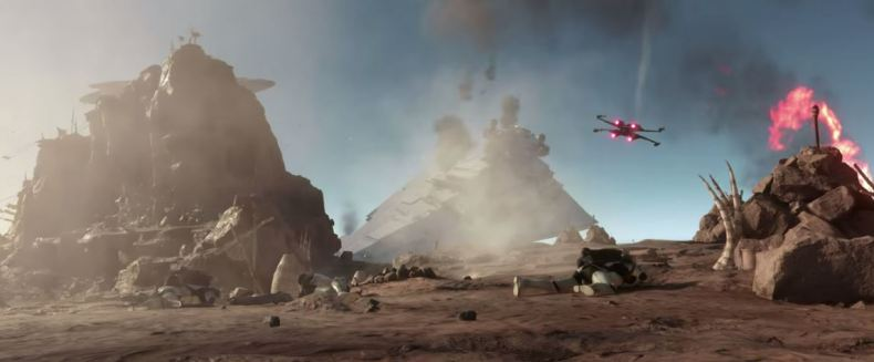 Did Star Wars: Battlefront Slip a Force Awakens Easter Egg into the New Game Mode?