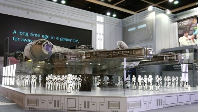 Star Wars: This 18-Foot Millennium Falcon is the Ultimate Star Wars Toy
