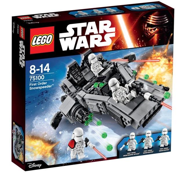 first order snowspeeder lego 0a