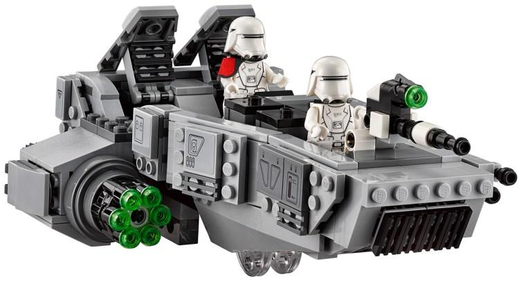 first order snowspeeder lego 2