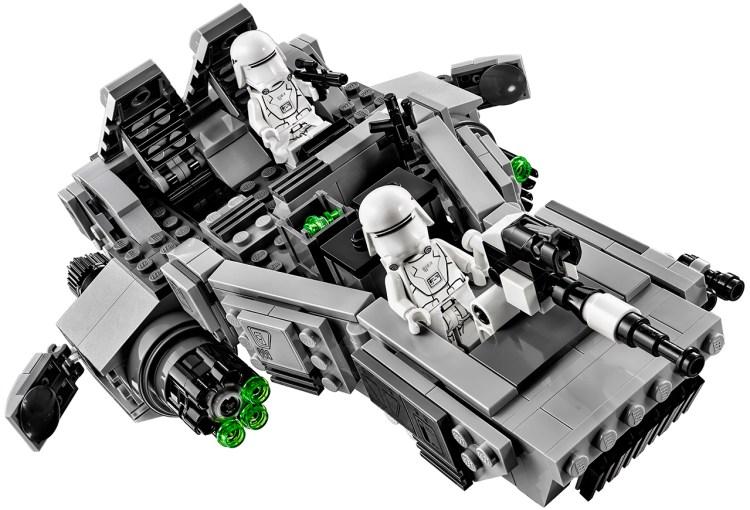 first order snowspeeder lego 3