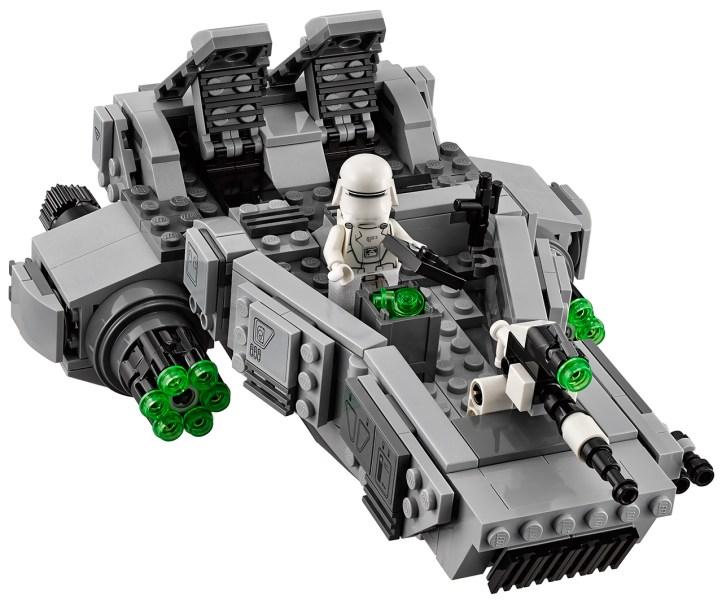 first order snowspeeder lego 4