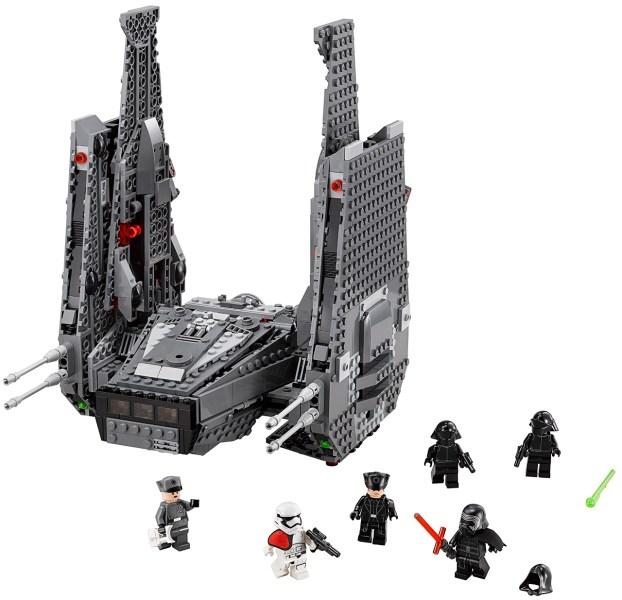 kylo ren shuttle lego 1