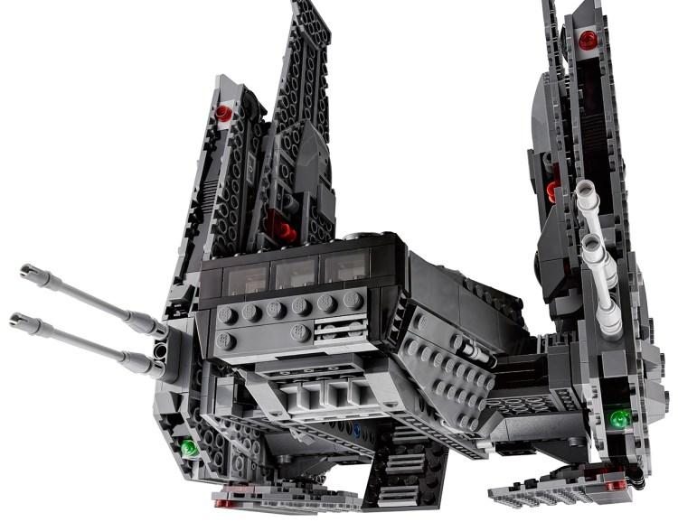 kylo ren shuttle lego 2