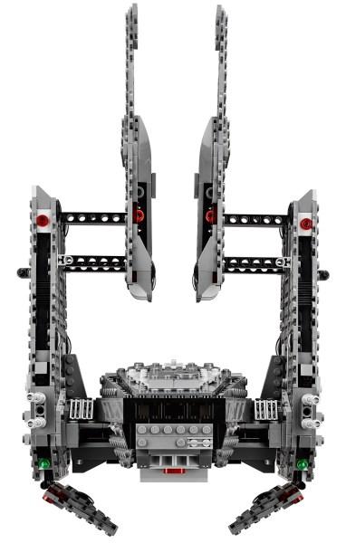 kylo ren shuttle lego 5