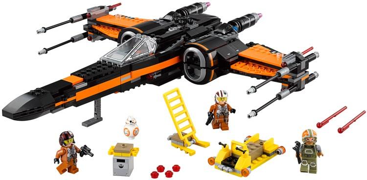 poe x-wing lego 1