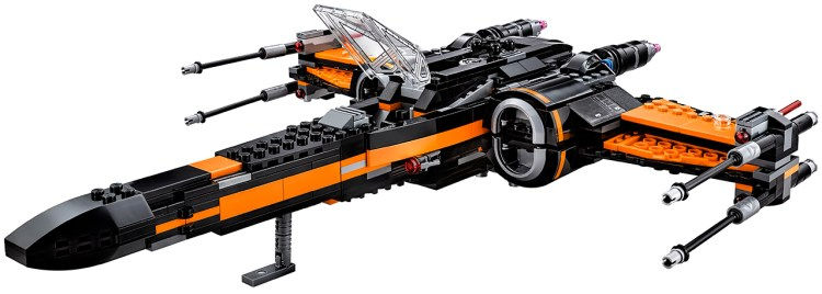 poe x-wing lego 7