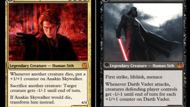 Someone Made A Set Of Star Wars Magic: The Gathering Cards And It's Brilliant