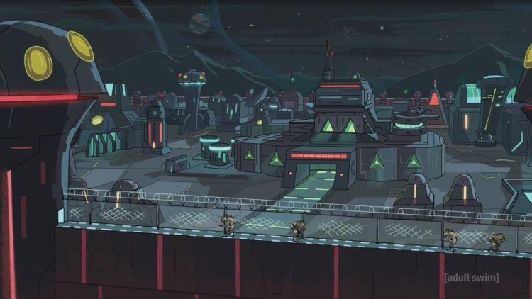 rick and morty - federation base