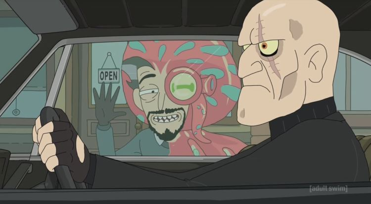rick and morty - octopus man